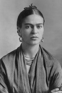 Frida Kahlo *gelatin silver print *Oct. 16 / 1932